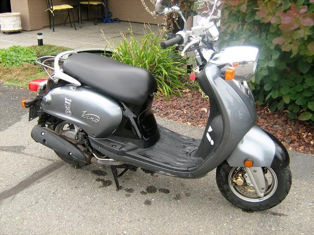 2006 Yamaha Vino 125 Scooter
