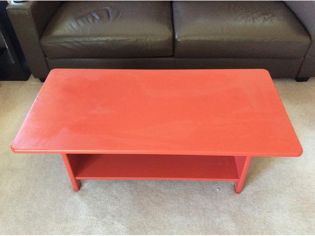Painted Solid Pine Coffee Table Esquimalt View Royal Victoria