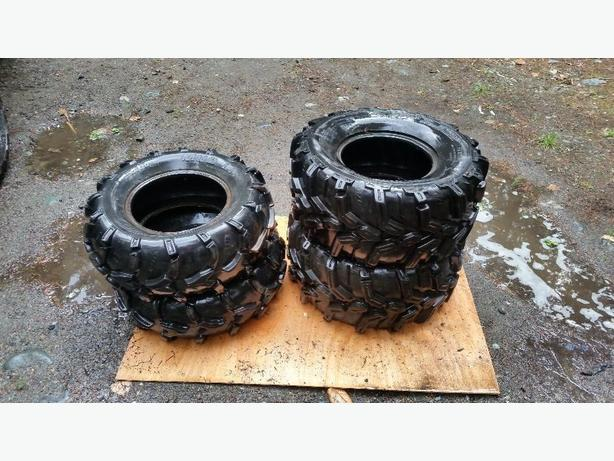 set of 4 quad tires