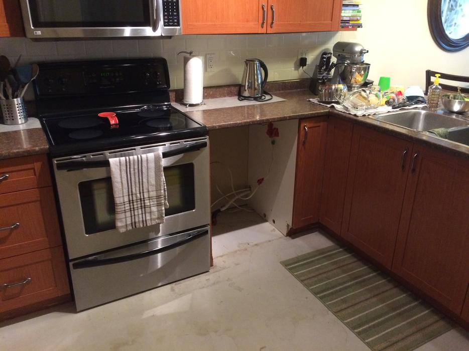 full kitchen cabinet set with countertops west shore