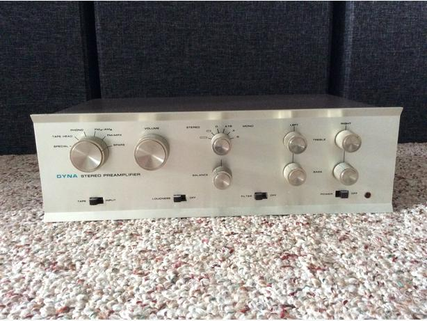 Dynaco PAS 3 stereo preamplifier