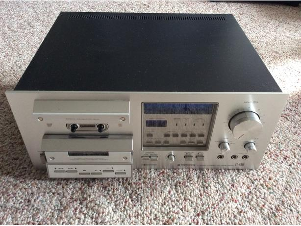 Pioneer Stereo Cassette Tape Deck