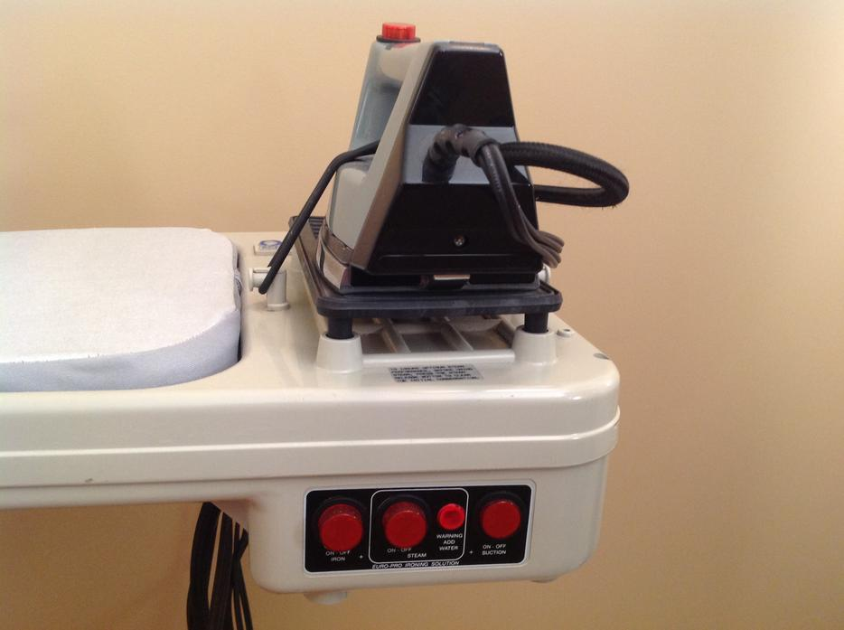 Euro Pro Steam Iron ~ Euro pro steam ironing system north nanaimo