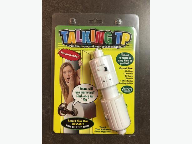 New talking TP toilet paper roll