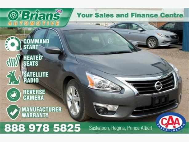 2015 Nissan Altima 2.5 SV - CMD STRT REV CAM WARRANTY
