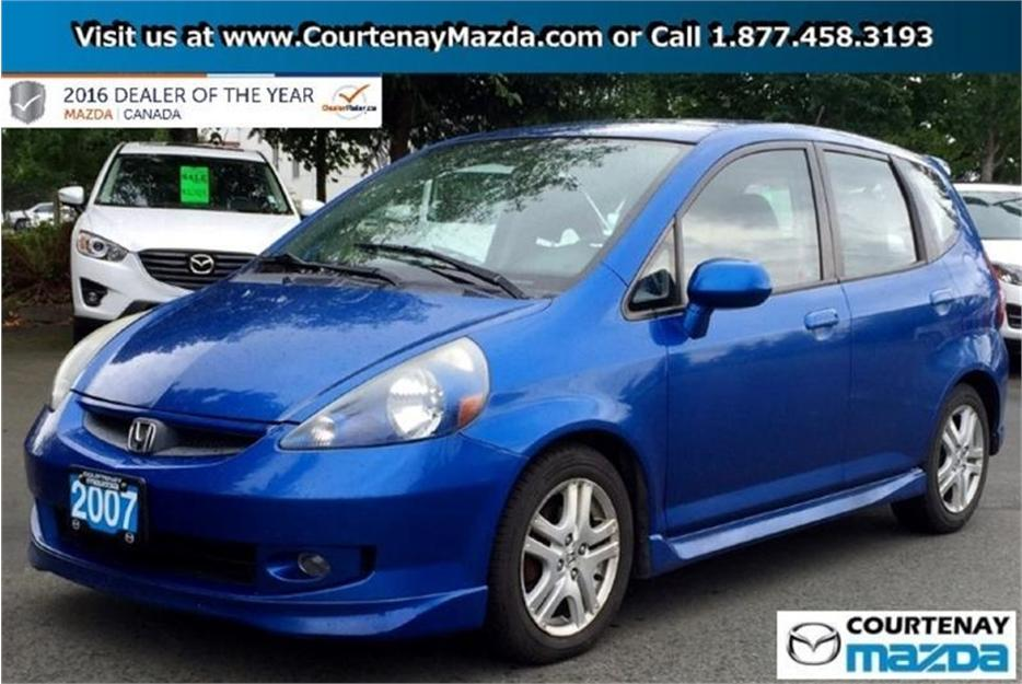 2007 honda fit hatchback sport at outside victoria victoria