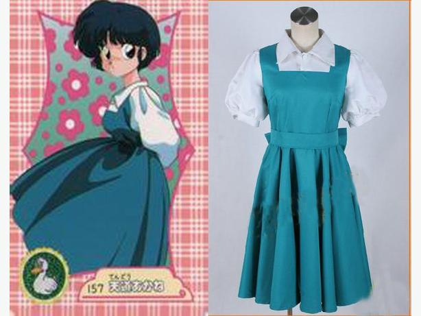 Akane Tendo Cosplay Costume Ranma 1/2 (Large)