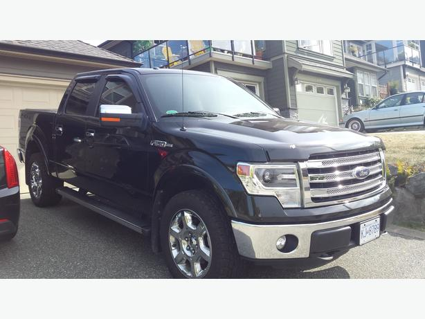2014 Ford F150 Lariat Fully Loaded with Ford Premium Warranty