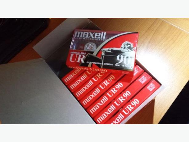 Maxell UR 90 Blank Cassette Tapes Sealed