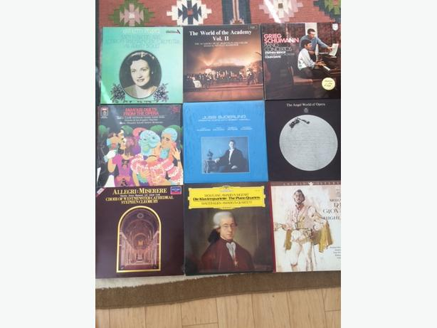 40+ classical records LP's excellent to near mint