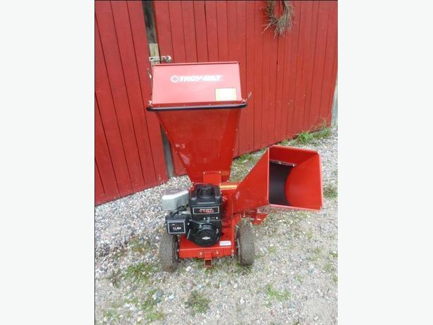 The Troy Bilt Chipper Shredder model 420