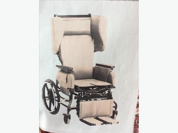 Broda elite 785 tilt full recline wheelchair    Charcoal