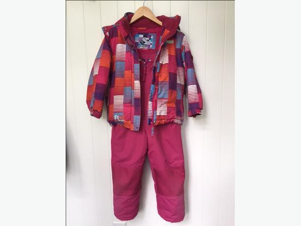 Girls Size 6 snow suit