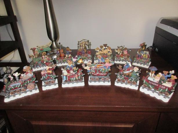 Boyds Bears Christmas Trains