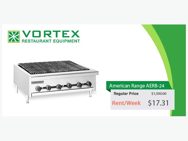 "American Range AERB-24 24″ Gas Radiant Charbroiler ""Used"""