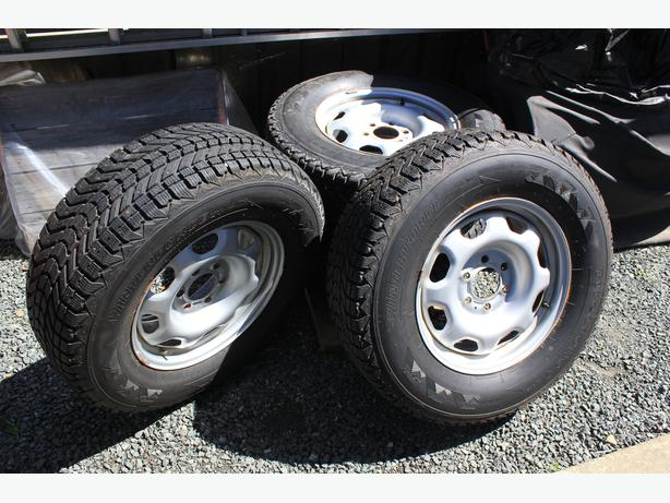 Ford 17 inch studded snow tires