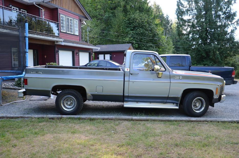 1980 Gmc With Collectors Plates South Nanaimo Parksville