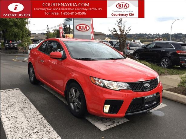 2011 Kia Forte Koup EX | 1 Owner | Vancouver Island Vehicle