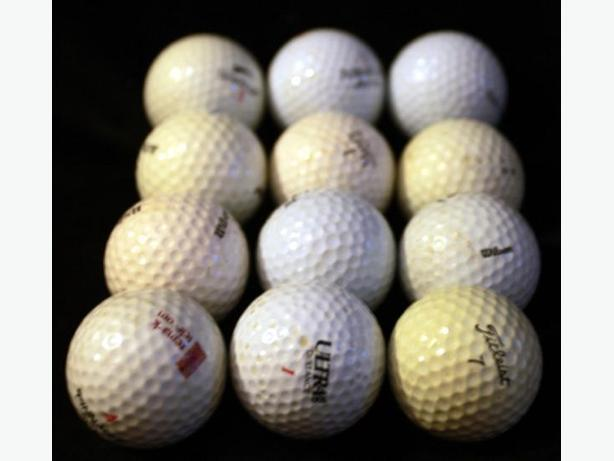 Experienced Golf Balls - Sets of 12
