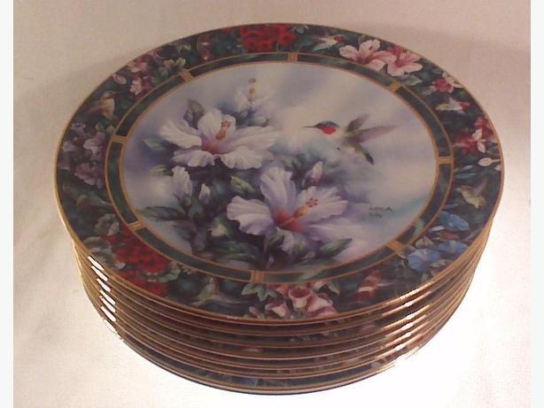 Lena Liu Hummingbird Treasury plates