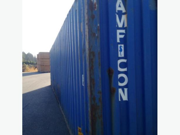 Used 40' Shipping Container