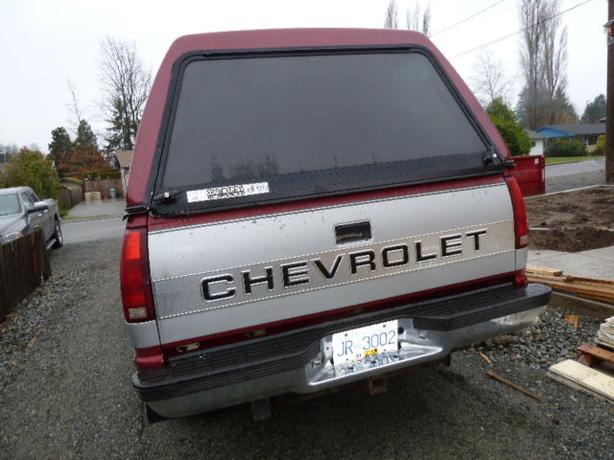 Reduced! 1992 Chev pickup 2500