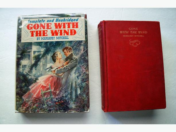 Gone With The Wind Motion Picture Edition 1940 + Edition 1942