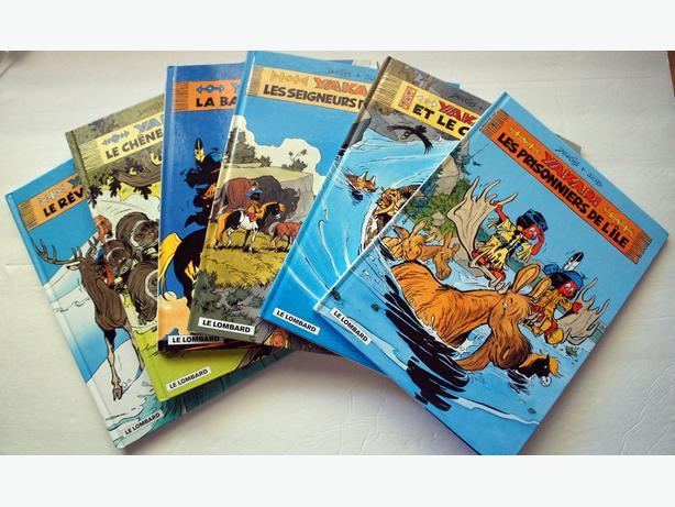 Yakari comic book series (Six books)
