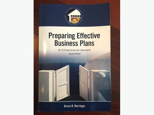 Barringer preparing effective business plans