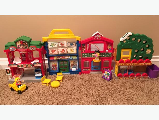 Fisher Price Little People Learn About Town East Regina