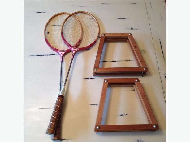 vintage yoneyama 9000 badminton rackets