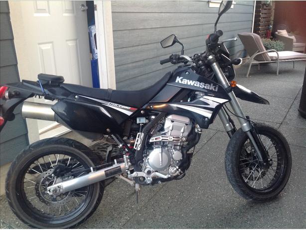 2009 Kawasaki KLX 250SF