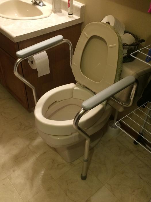 Raised Toilet Seat And Rails West Regina Regina