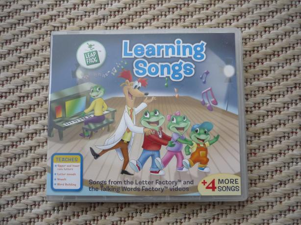 Leap Frog / Learning Songs / Learning Letters Educational CD