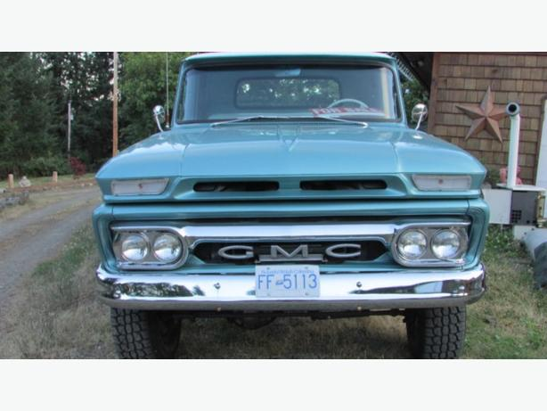 1965 4x4 GMC  SHORT BOX