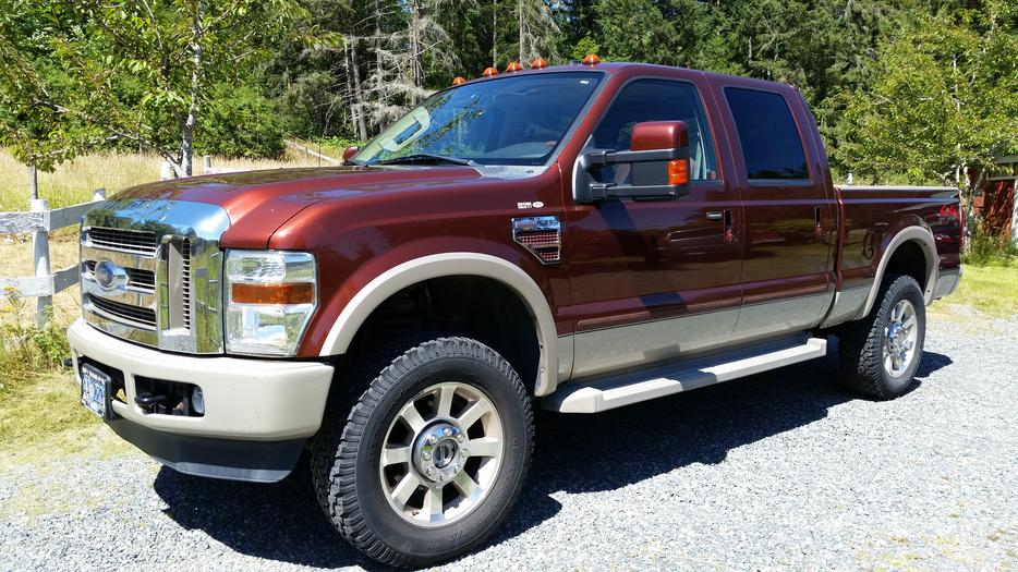 2008 F350 King Ranch Diesel Outside Victoria Victoria Mobile