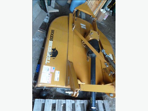 Woods bb600x Brushbull Single Spindle Rotary Cutter