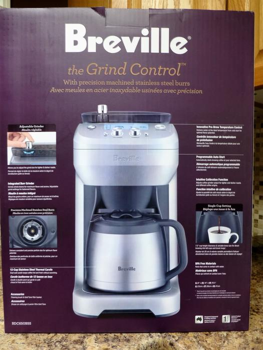 Breville Coffee Maker Filter Size : Breville GRIND & BREW coffee maker ~ Like new in box North Saanich & Sidney , Victoria - MOBILE