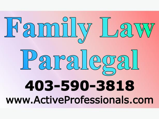 Family Law Paralegal Services