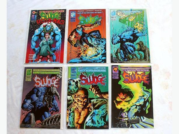 Malibu Comics - Ultraverse Sludge Set