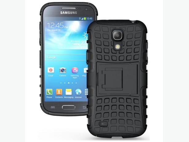 Rugged Hybrid Heavy Duty Armor Case for Samsung S4 Mini I9190