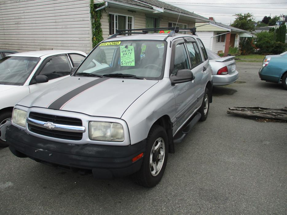 2000 Chevrolet Tracker 4x4 Outside Victoria Victoria Mobile