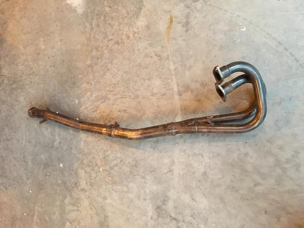 2004 Polaris Sportsman 700 Twin stainless exhaust header