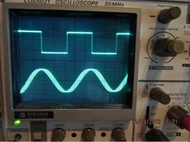 Kikusui COS-5021 oscilloscope 20Mhz.