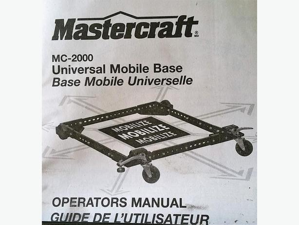 Universal Mobile Base - Mastercraft MC-2000