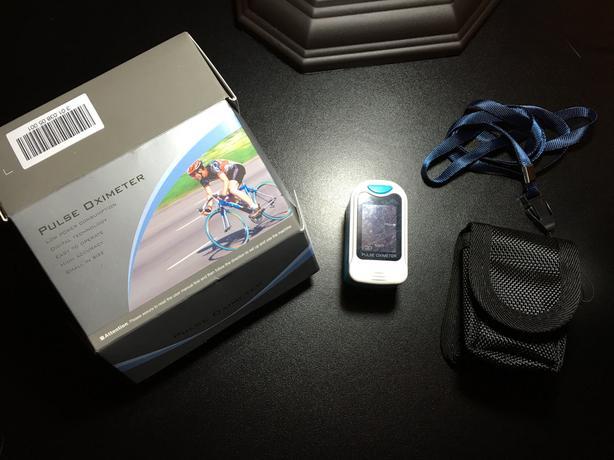 New digital fingertip pulse Oximeter heart rate monitor