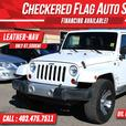 2012 Jeep WRANGLER UNLIMITED Sahara-LEATHER-NAVI-87566km