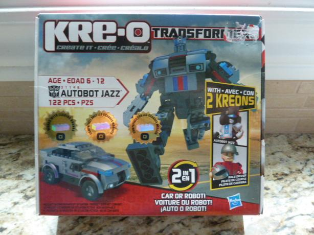 NEW KRE-O Transformers AUTOBOT JAZZ