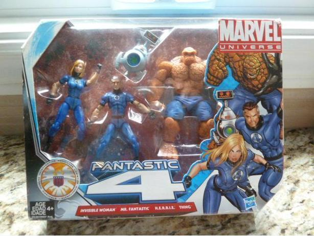 NEW Marvel Universe Fantastic Four Set