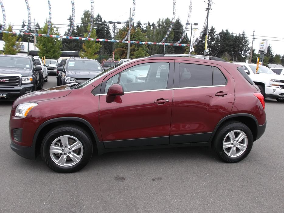 Used Chevy Trax Vancouver Island